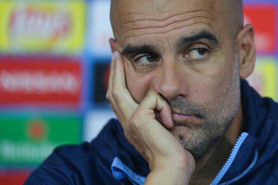 Pep Guardiola (47) ist Trainer bei Manchester City.