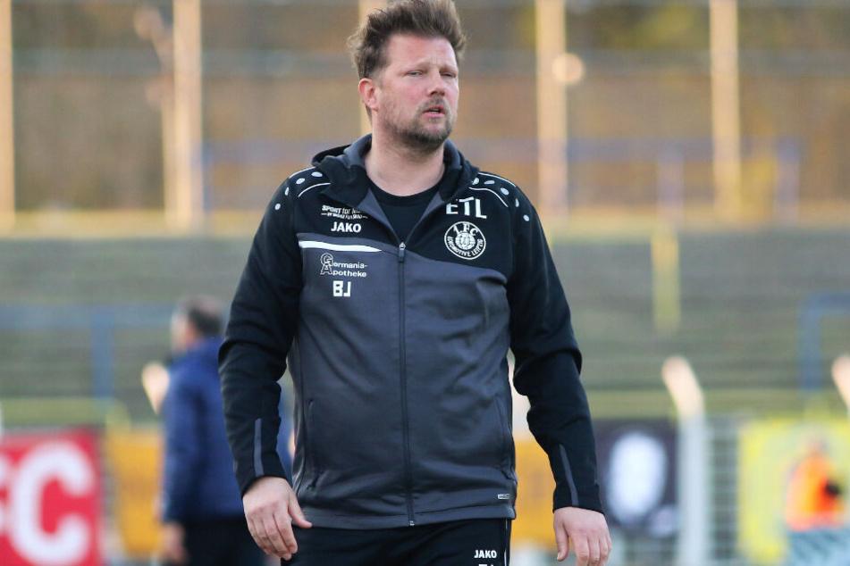 Verlor mit dem FCL das dritte Spiel in Folge: Teammanager Björn Joppe. (Archivbild)