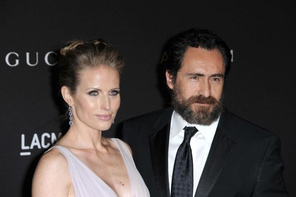 Stefanie Sherk und ihr Ehemann Demian Bichir.