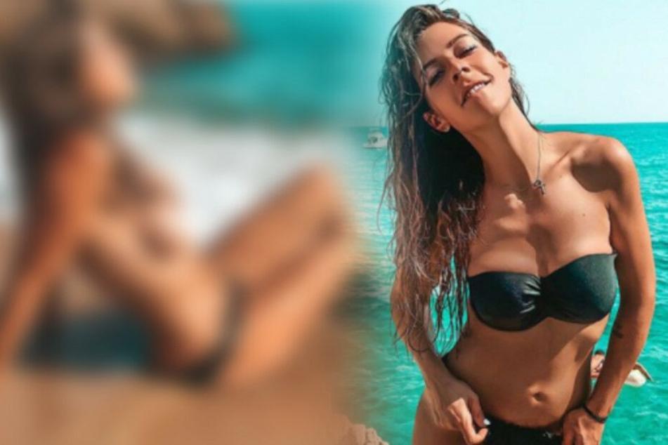 """""""Sieht Todes eklig aus"""": Ex-BTN-Star Saskia Beecks lässt die Hüllen fallen und kassiert fiese Kommentare"""
