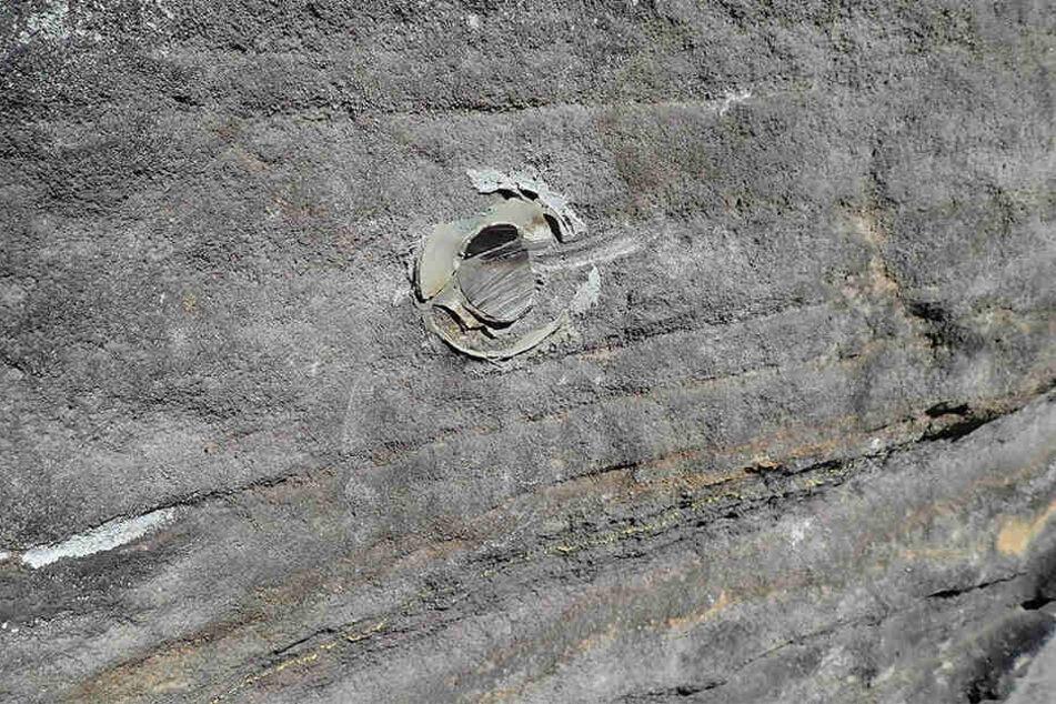 Ein Sicherheitsrisiko: 24 Ringe wurden in diesem Jahr mutwillig beschädigt.