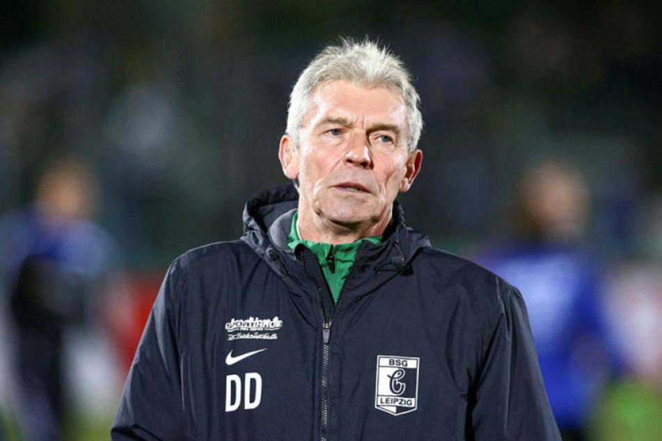 Nach fast drei Jahren, in denen er mit Chemie Leipzig unter anderem zweimal in Folge aufstieg, ist für Dietmar Demuth Schluss.