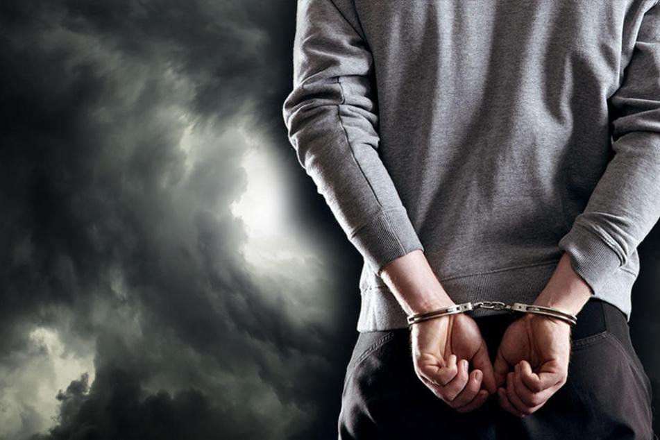 Vor seiner Festnahme beleidigte der 21-Jährige die Polizisten. (Symbolbild)