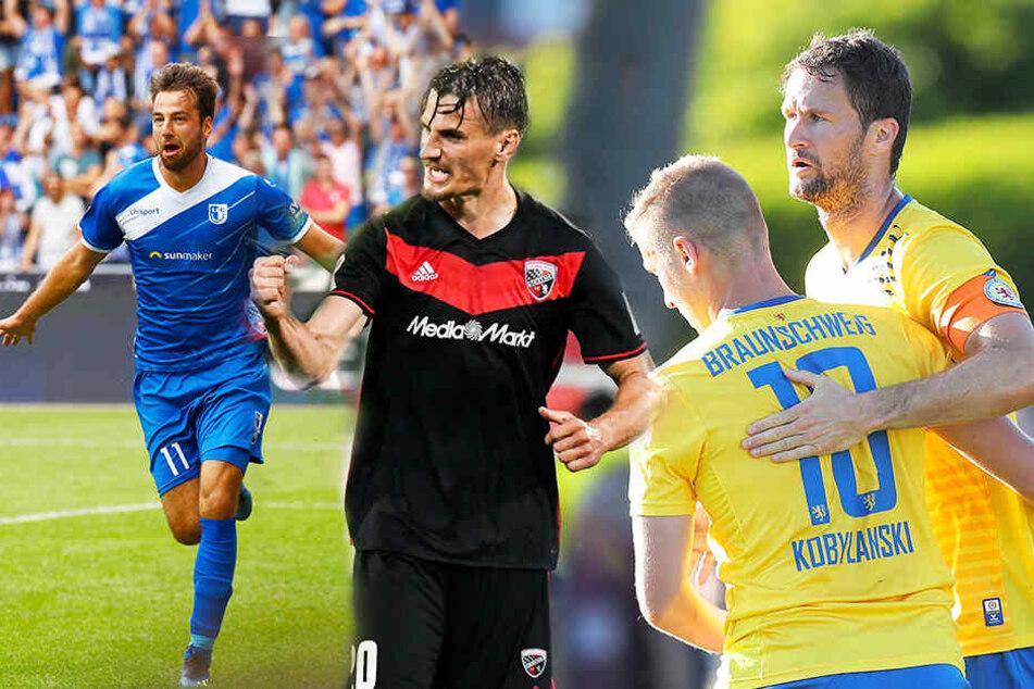 Das sind die Aufstiegskandidaten der 3. Liga!