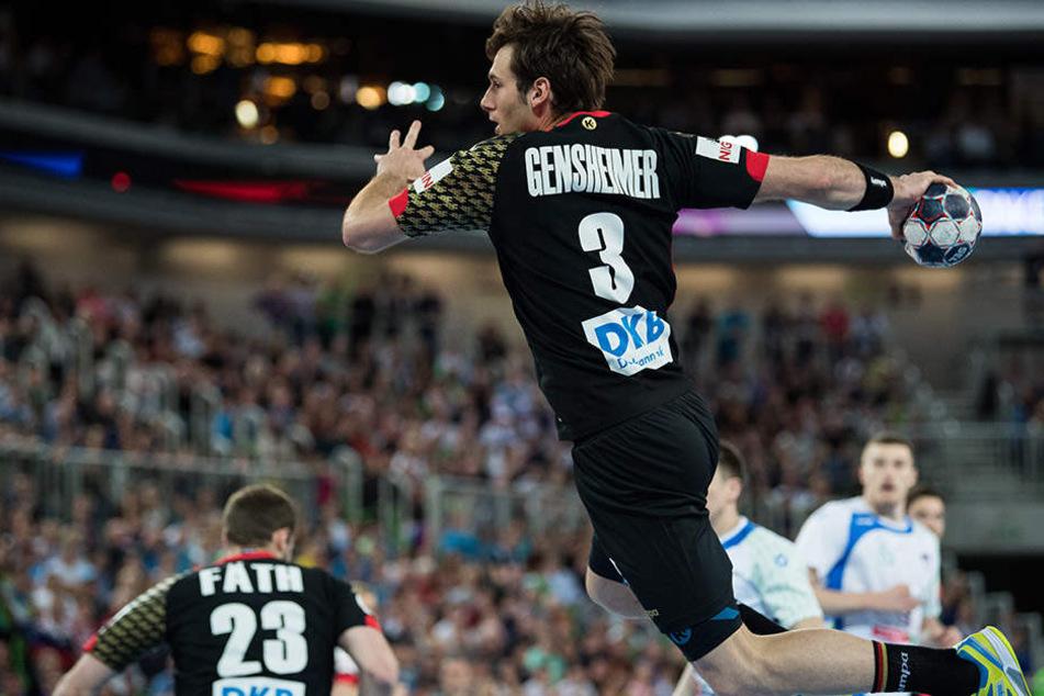 Uwe Gensheimer leistete seinen Teil zum hohen Sieg in Slowenien.