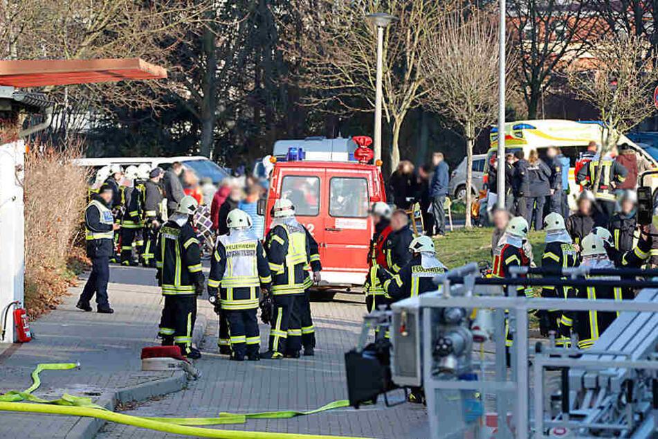In einem Pflegeheim in Frankenberg ist ein Feuer ausgebrochen.