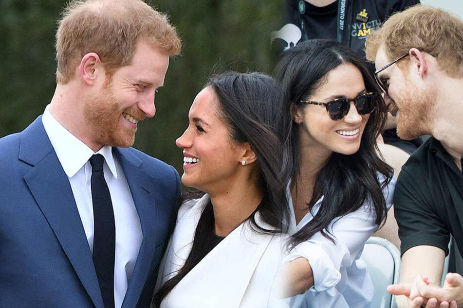 Liebe pur: Harry soll sofort gemerkt haben, dass Meghan die Frau fürs Leben ist.