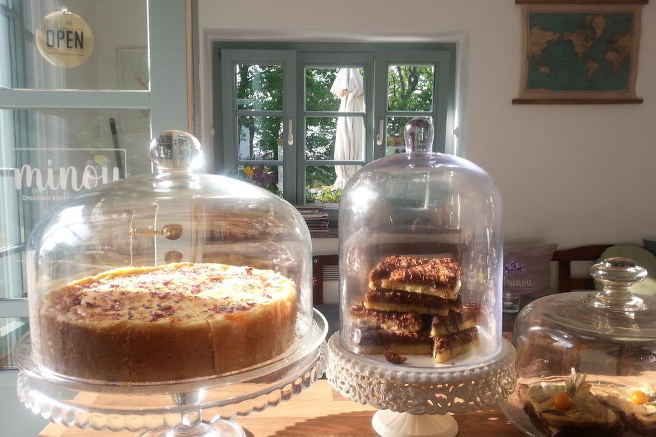 """Selbst gebackene Kuchen und ein kleines Mittagsangebot soll es auch weiterhin im """"Minou"""" geben."""
