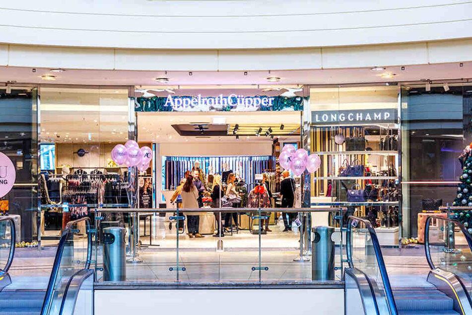 """Im ehemaligen """"Zara"""" in der Altmarkt Galerie eröffnete nun AppelrathCüpper."""