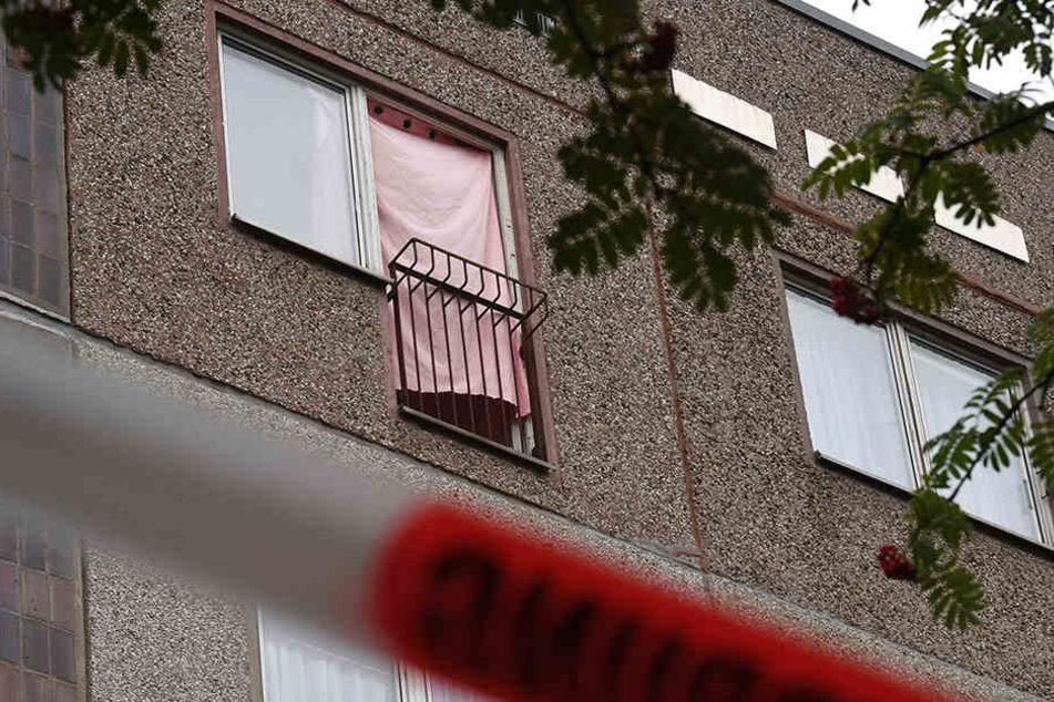 In diesem Haus im Leipziger Stadtteil Paunsdorf wurdeDschaber al-Bakr (22) von drei Landsmännern überwältigt und der Polizei übergeben.