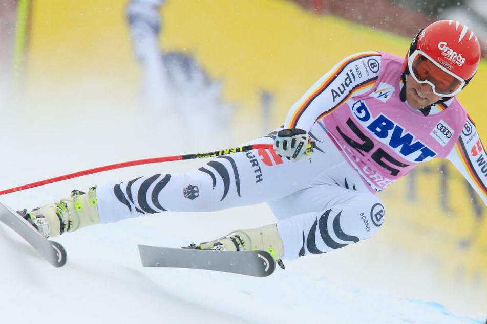 Vorjahressieger Thomas Dreßen muss aufgrund einer Verletzung passen. (Archivbild)