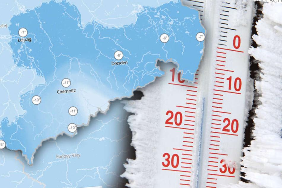 """Kommt jetzt der Jahrhundert-Winter? Hoch """"Brigida"""" lässt Sachsen bibbern"""