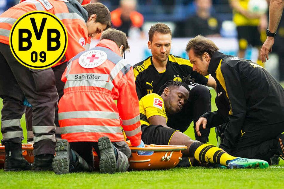 Saisonaus für Batshuayi nach Verletzung im Derby auf Schalke!