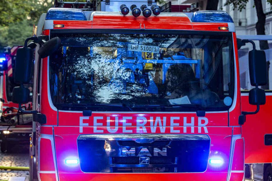 Viele Feuerwehrleute waren im Einsatz. (Symbolbild)