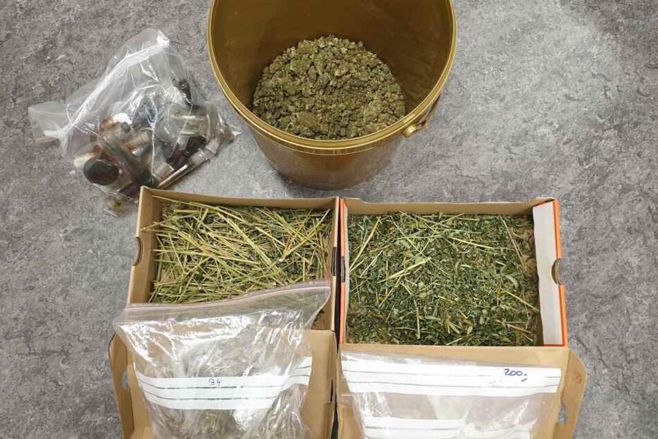 Ermittlungserfolg nach Durchsuchungen: In Rostock wurden Marihuana und Amphetamine sichergestellt