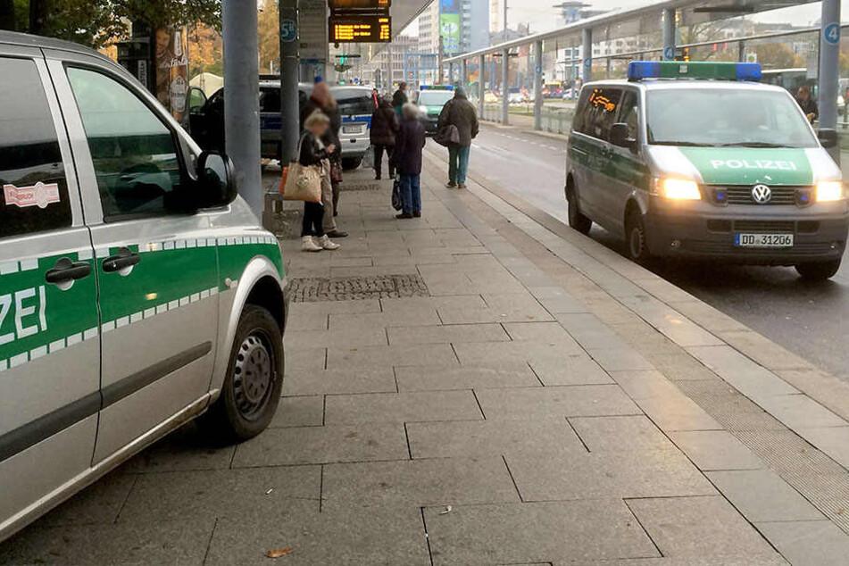 An der Zentralhaltestelle verprügelte ein Dieb einen Passanten (Archivfoto).