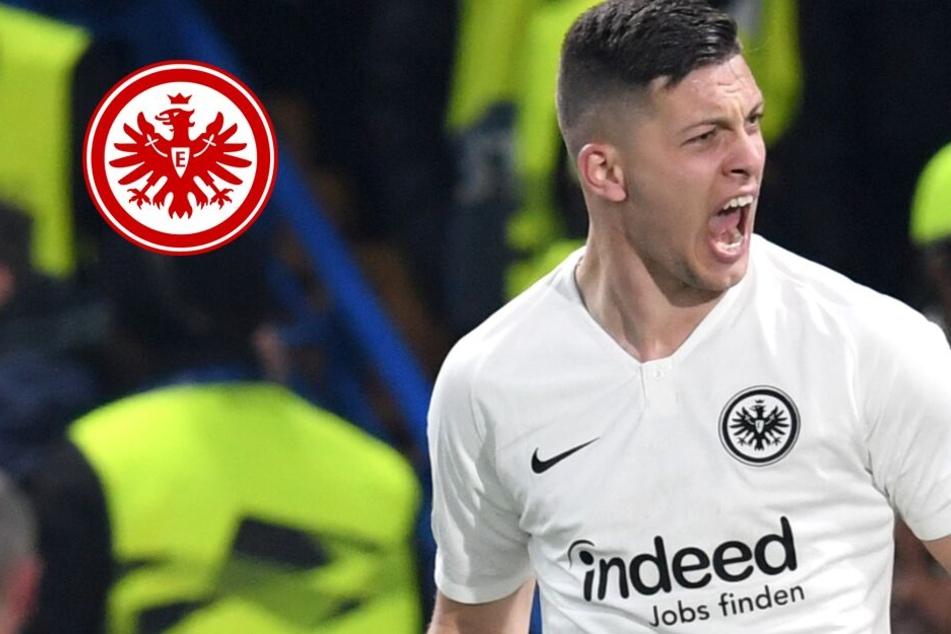 Fernduell mit Giroud und Aubameyang: Wird Eintrachts Jovic zum Euro-League-Topscorer?