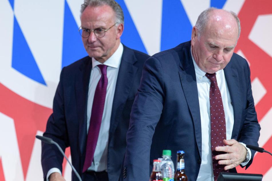 Auf der Jahreshauptversammlung des FC Bayern München bekamen die Bayern-Bosse Gegenwind.