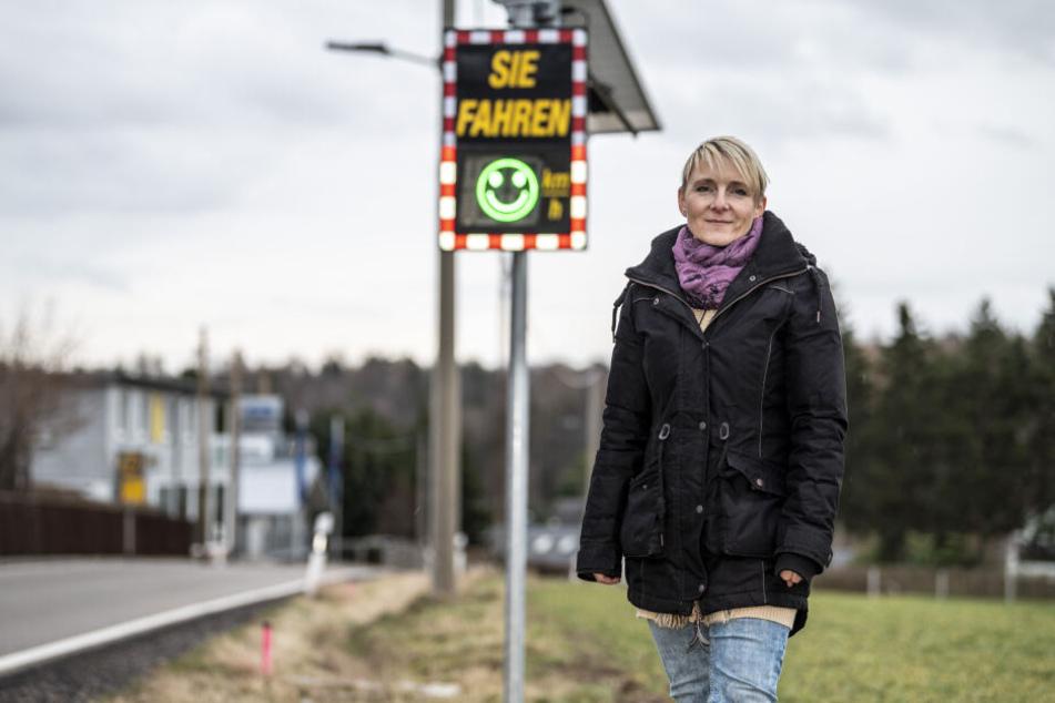 Chemnitz: Vorsicht! Hinterm Smiley versteckt sich ein Blitzer