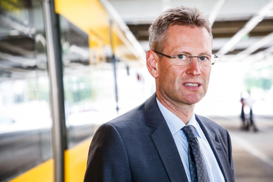 DVB-Vorstand Andreas Hemmersbach (51) warnt vor steigenden Baukosten.