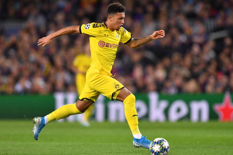 Jadon Sancho wird definitiv bis Sommer in Dortmund bleiben.