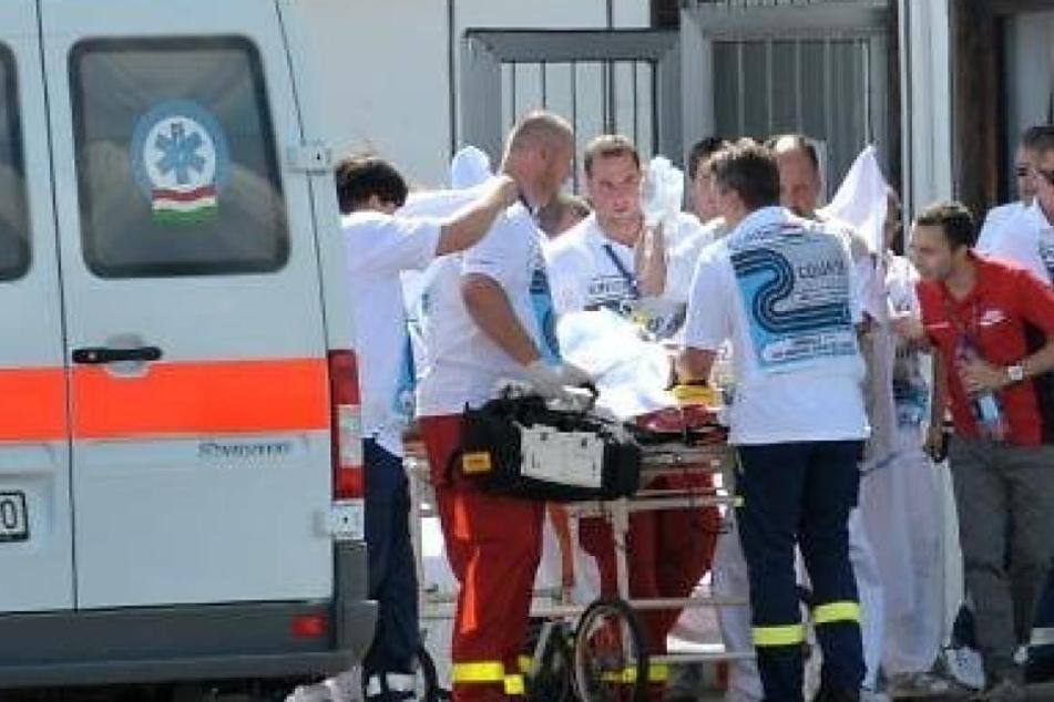 Die Mutter wollte sich das Leben nehmen, konnte von den Einsatzkräften aber noch gerettet werden. (Symbolbild)