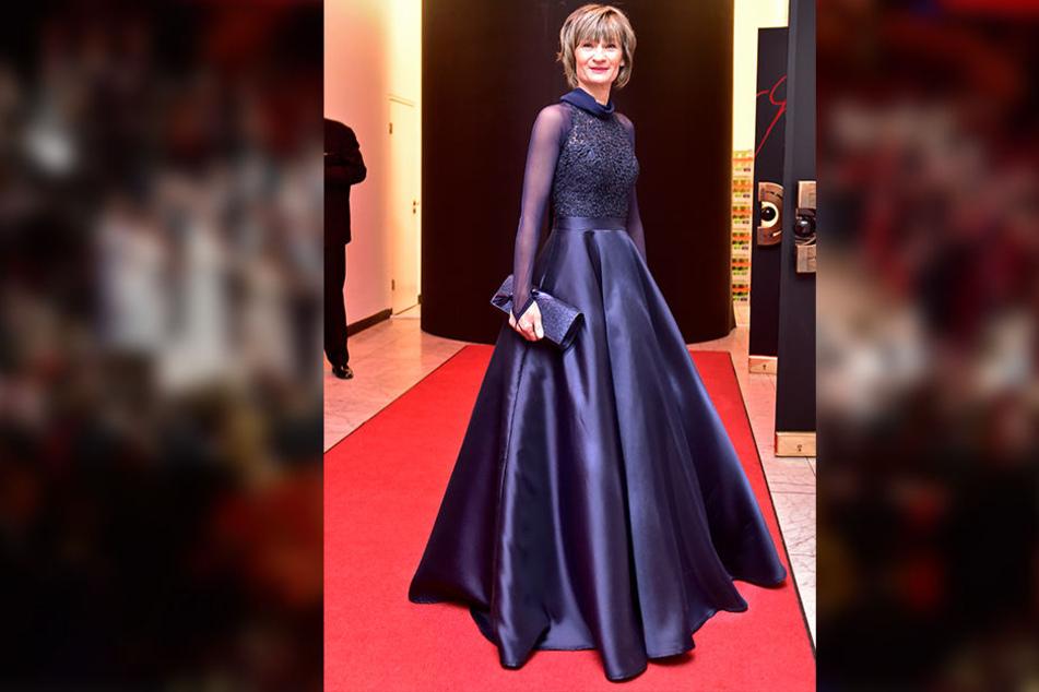 Oberbürgermeisterin Barbara Ludwig trug eines der schönsten Kleider des Abends.
