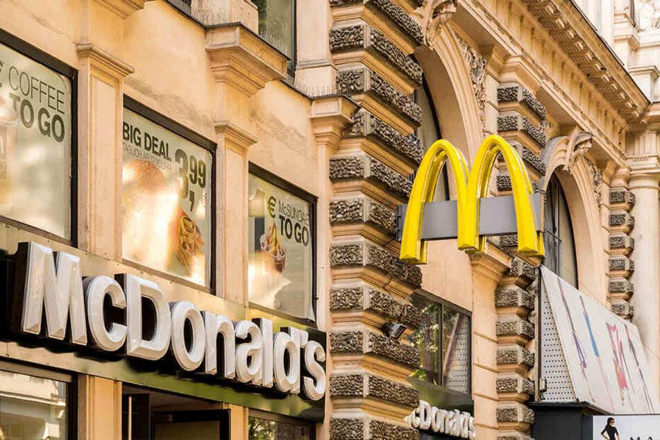 Eine McDonalds-Filiale in Wien.