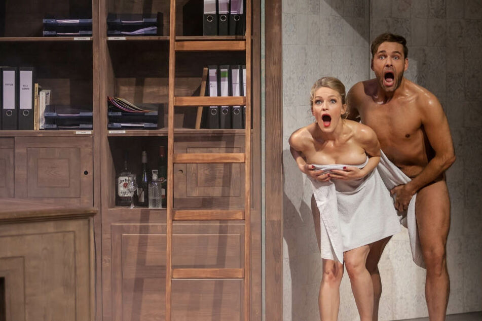 Und tschüß! Nackt-Schauspieler verlässt Dresden