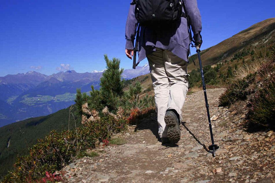 Ein deutscher Wanderer ist auf dem Stubaier Höhenweg in Österreich vor den Augen seiner Frau in den Tod gestürzt. (Symbolbild)