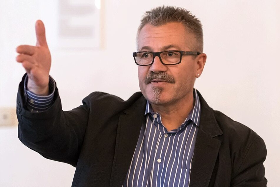 Ordnungsbürgermeister Miko Runkel (56, parteilos).
