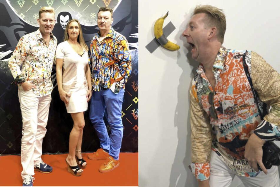 Der Hemden-König mit Paradiesvogel-Status: Chemnitzer Designer startet in Miami durch