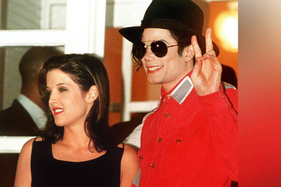 Michael Jackson und Lisa-Marie Presley waren in den 90er Jahren ein Paar.