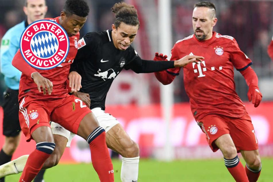 Ribéry! FC Bayern schlägt RB Leipzig, Rückstand auf BVB schrumpft