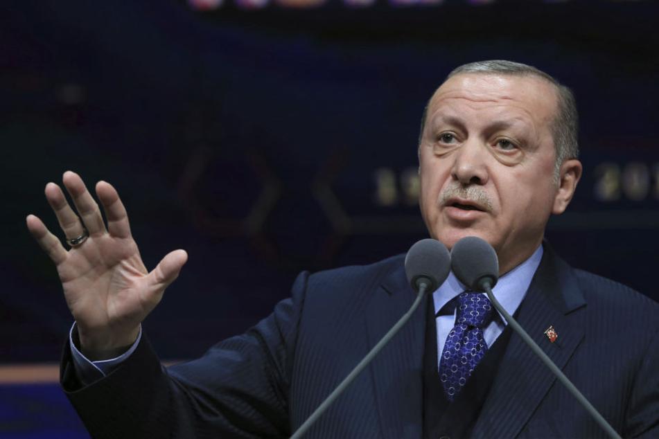 """Erdogan telefoniert mit von deutscher Polizei """"misshandeltem"""" Türken"""