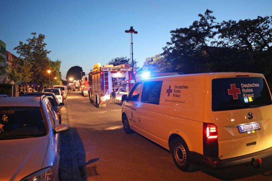 Brand-Katastrophe an der Ostsee: Explosionen und zahlreiche Verletzte