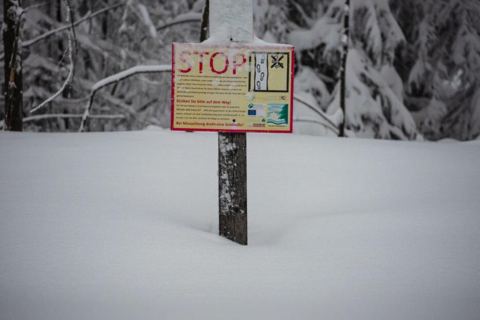 In Neubau in Bayern liegt meterhoch Schnee: Der Winter hat den Süden weiter fest im Griff.