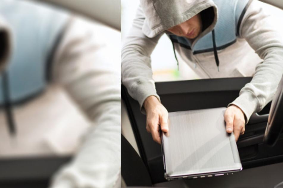 Ein Dieb konnte Laptops im fünfstelligen Wert aus einer Schule stehlen (Symbolbild).