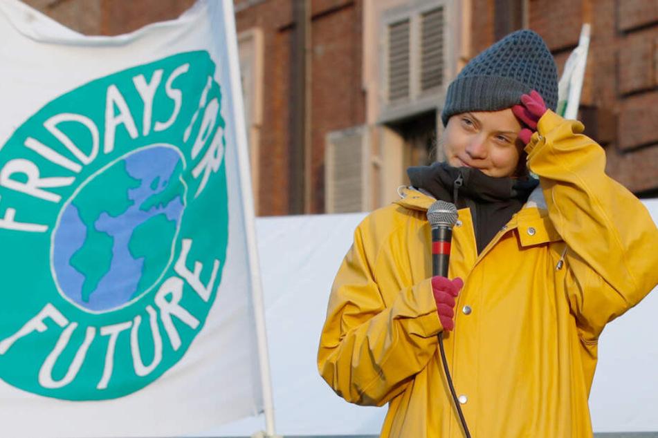 Dietmar Hopp glaubt, dass der Hype um die Klimaaktivistin Greta Thunberg (Foto) ihr körperlich zusetze.