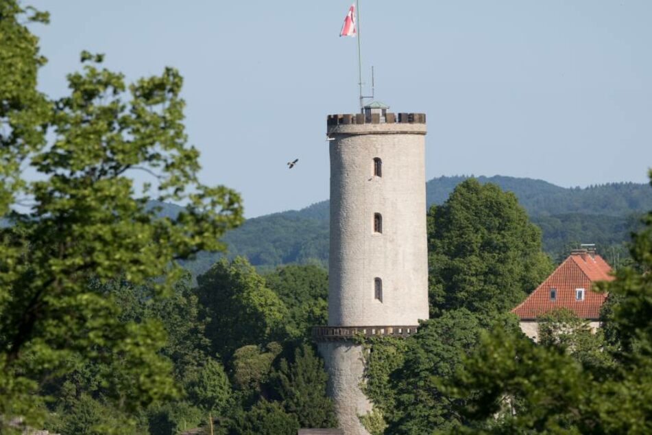 Die Sparrenburg ist das Wahrzeichen von Bielefeld.