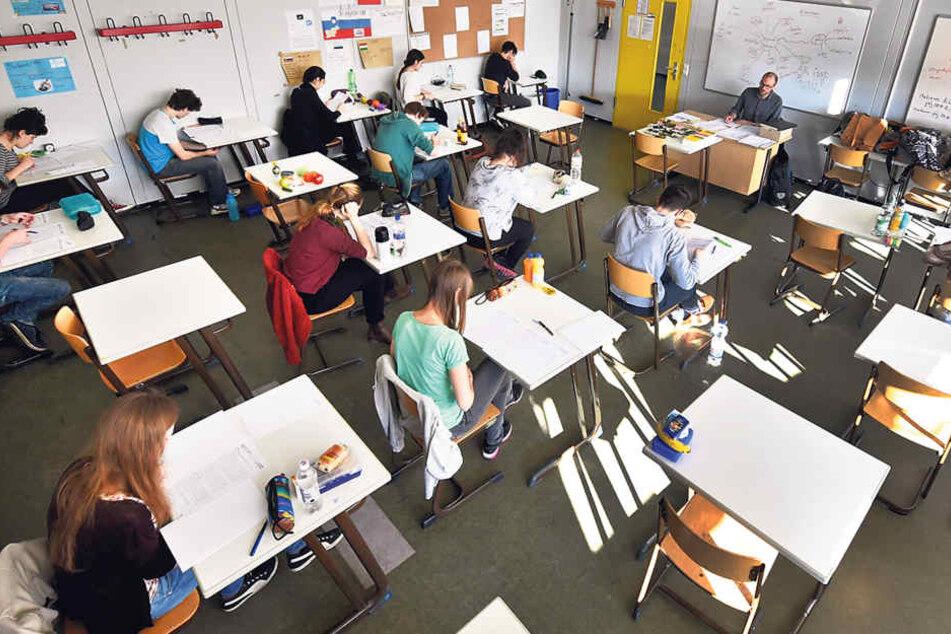 Die Chemnitzer Abiturienten können  jetzt etwas entspannter in die Prüfungen gehen.