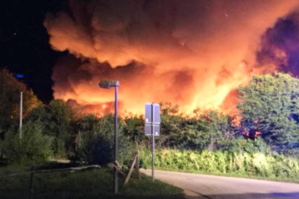 Nach Feuer-Inferno auf Campingplatz: 65-Jähriger in Klinik gestorben