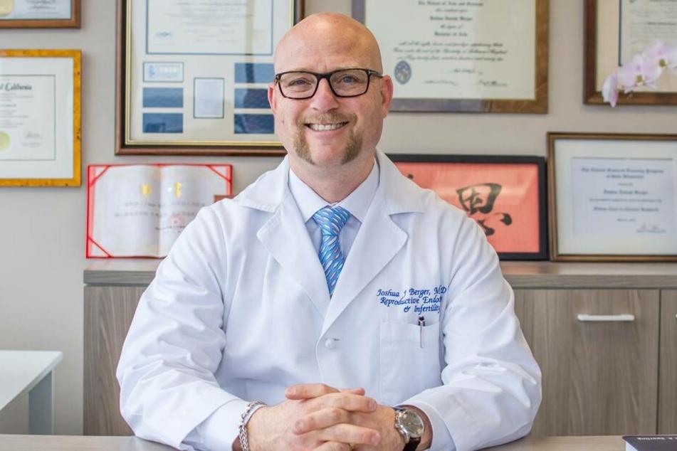 Dr. Joshua Berger ist der Inhaber der Kinderwunschklinik.
