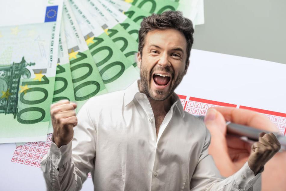 Den mit etwa 8,35 Millionen Euro gefüllten Jackpot im Lotto 6 aus 49 hat am Wochenende ein Glückspilz aus dem Havelland geknackt. (Bildmontage)