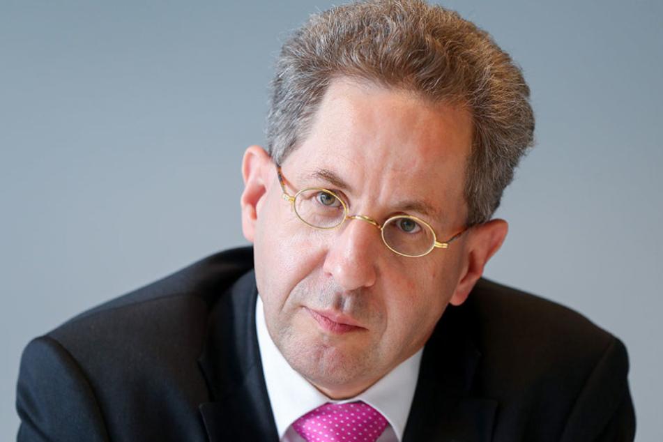 Präsident des Bundesamts für Verfassungsschutz, Hans-Georg Maaßen (53).