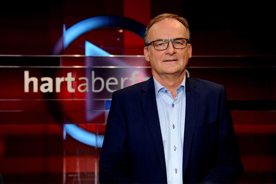"Frank Plasberg moderiert die ARD-Talkshow ""hart aber fair""."