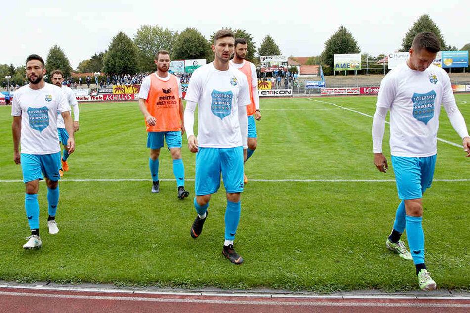 Nach nur einen CFC-Saison ist Schluss für Fabian Müller (links).