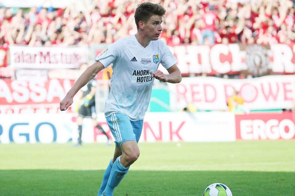 Die Beine wurden immer schwerer ... Florian Hansch ist froh, nicht jede Woche gegen den FC Bayern München spielen zu müssen.