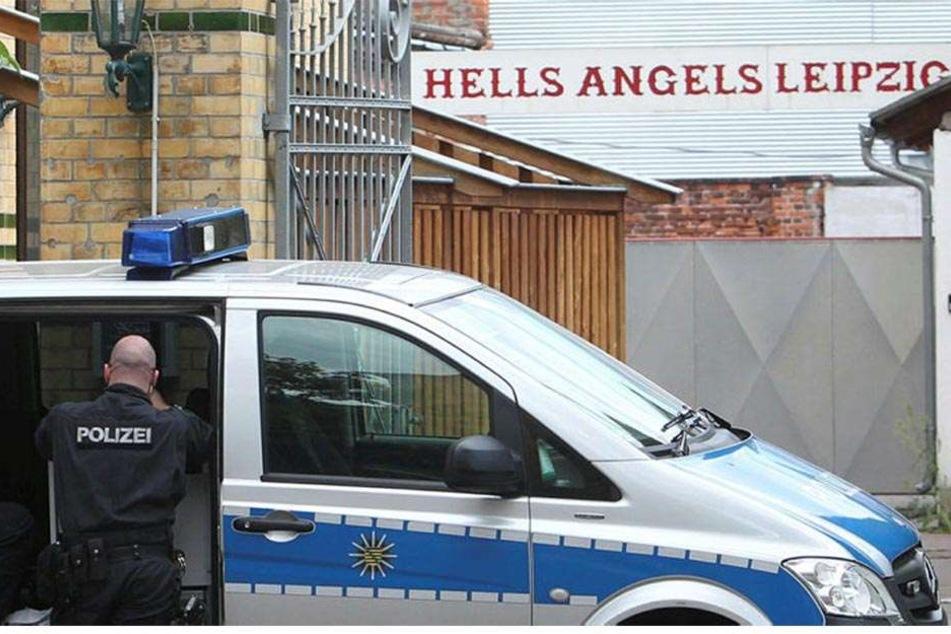 Immer wieder waren die Hells Angels im Visier der Polizei.
