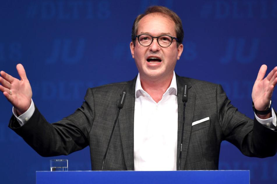 CSU-Landesgruppenchef Alexander Dobrindt (48) wünscht sich die GroKo bis zum Ende der Legislaturperiode 2021.